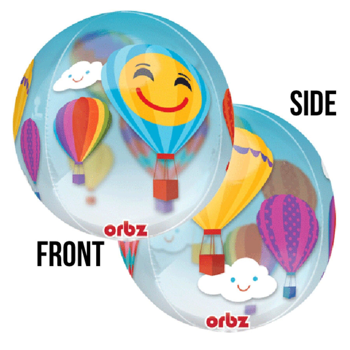 BALLOON BAR - ORBZ HOT AIR BALLOON, Balloons, Anagram - Bon + Co. Party Studio