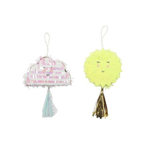 PINATAS - MINI 2 PACK SUN + CLOUD