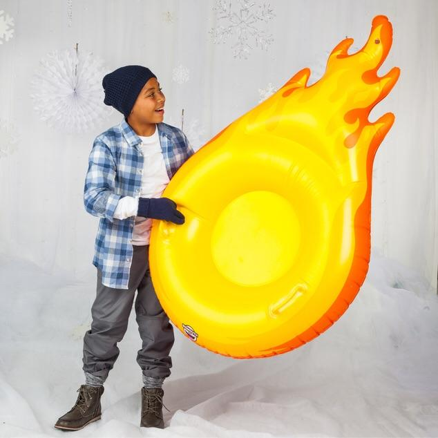 SNOW TUBES - GIANT FIREBALL