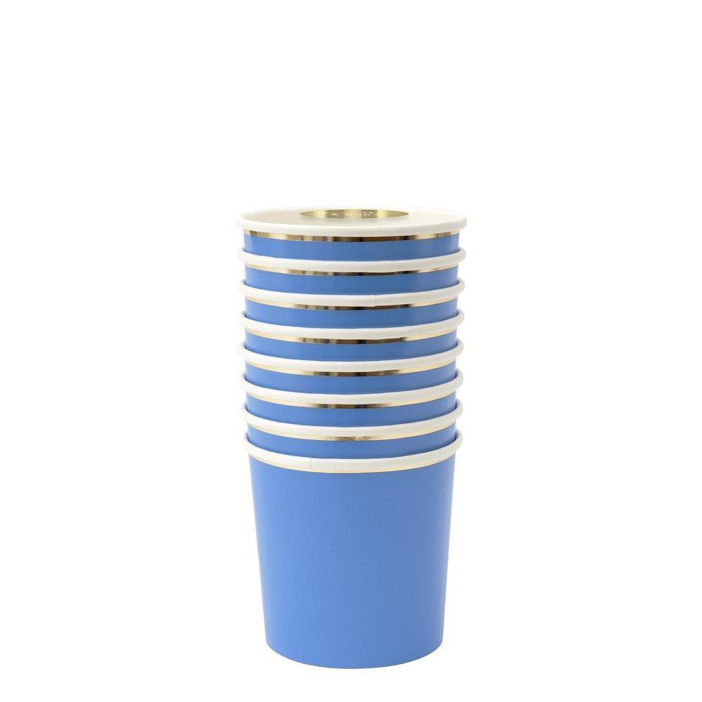 CUPS - MERI MERI TUMBLER BRIGHT BLUE, CUPS, MERI MERI - Bon + Co. Party Studio