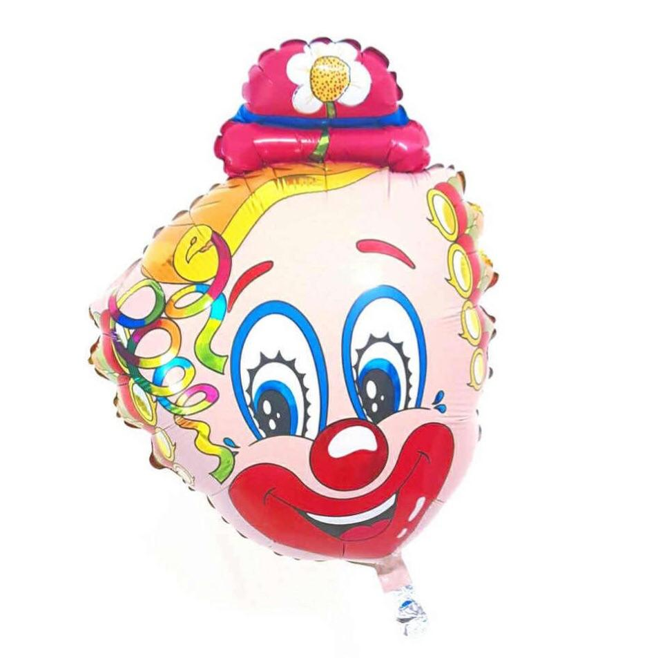 BALLOONS - CIRCUS CURLY CLOWN, Balloons, FM - Bon + Co. Party Studio