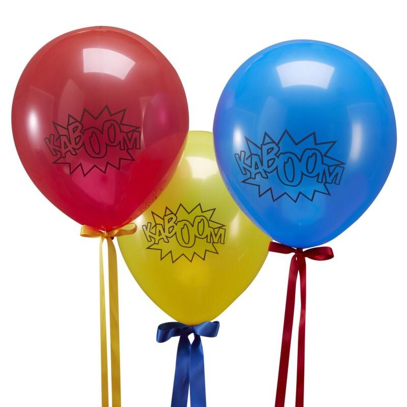 BALLOONS - SUPERHERO KIT GINGER RAY, Balloons, GINGER RAY - Bon + Co. Party Studio