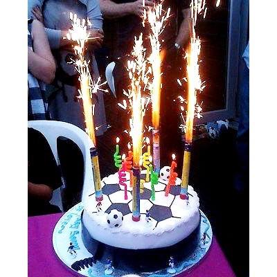 CANDLES - PYRO FOUNTAIN CAKE & BOTTLE TOPPER