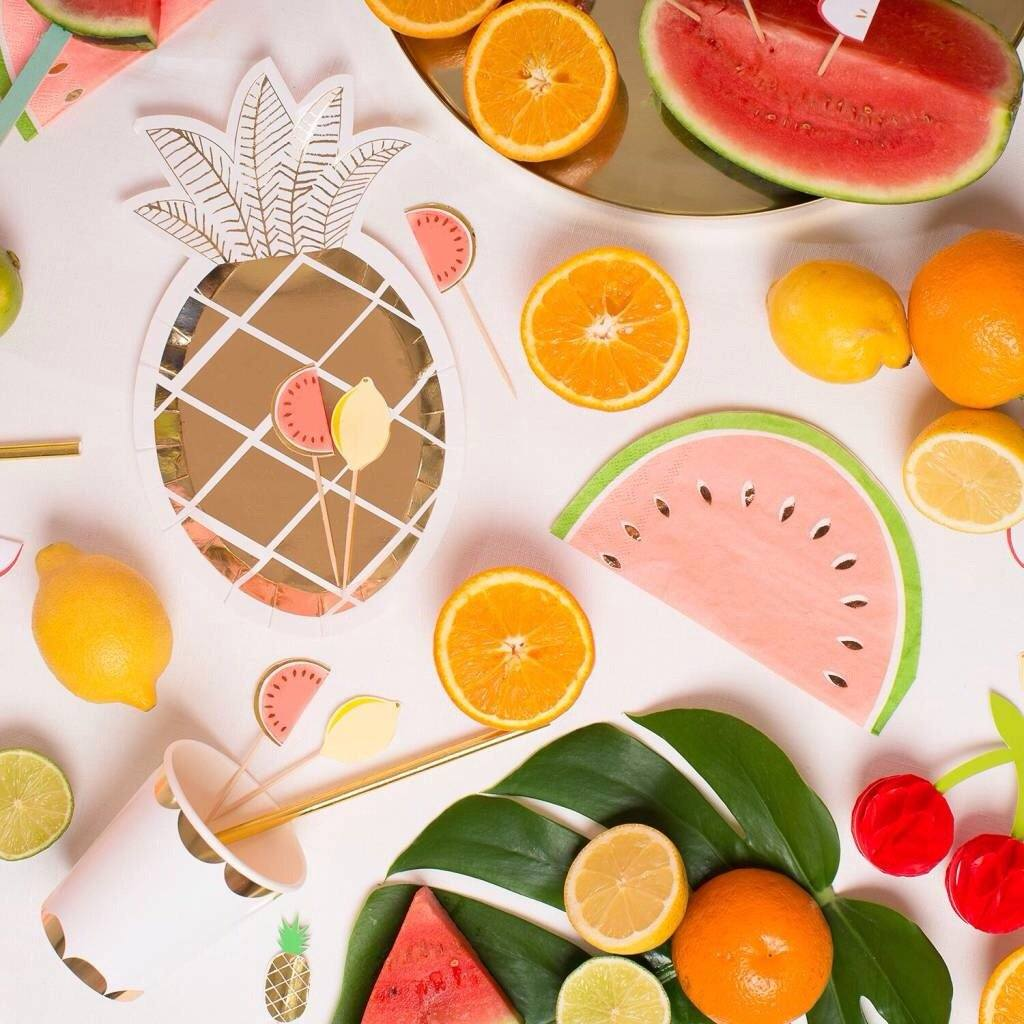 PARTY PICKS - FRUIT, Picks + Toppers, MERI MERI - Bon + Co. Party Studio