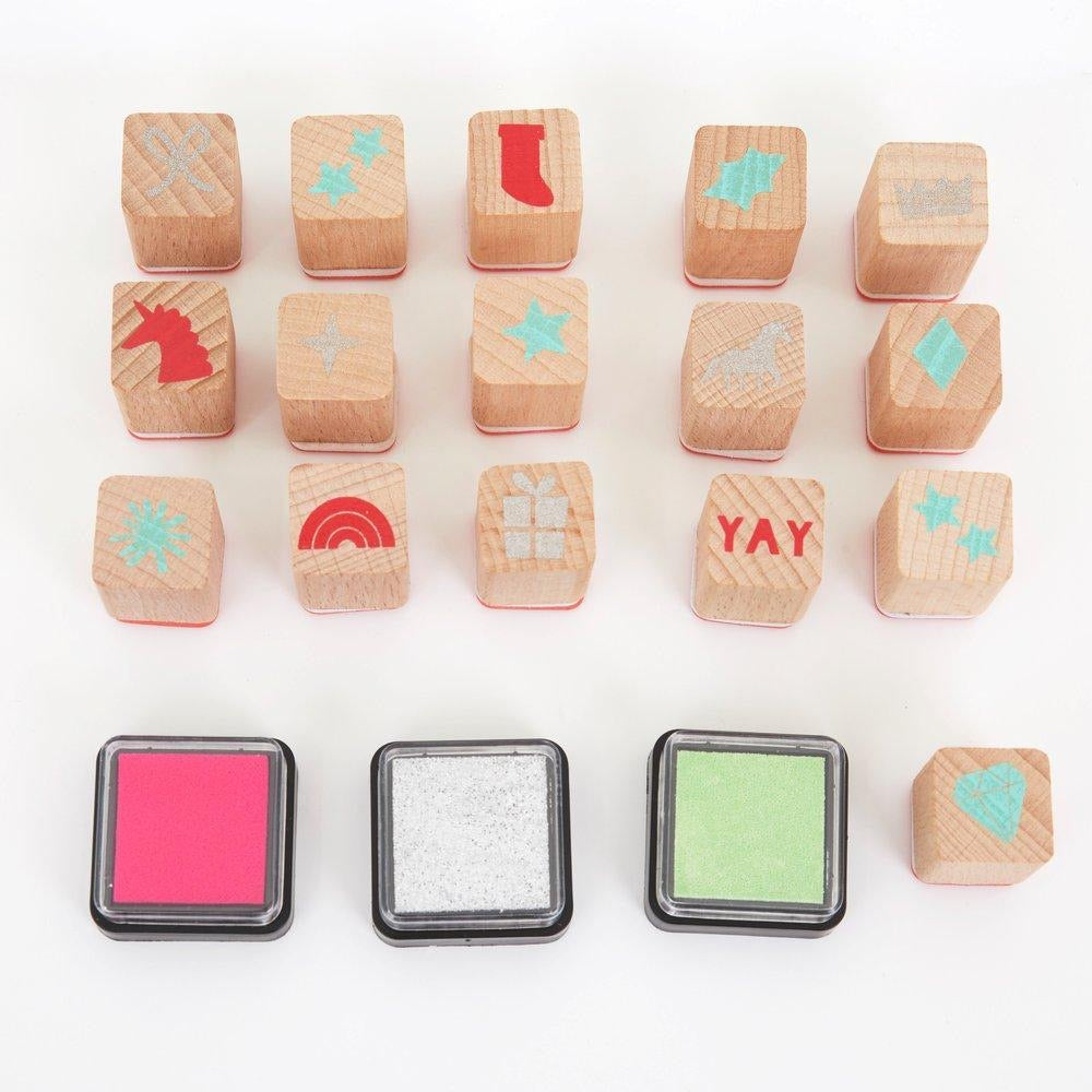 ADVENT CALENDAR - STAMP SET