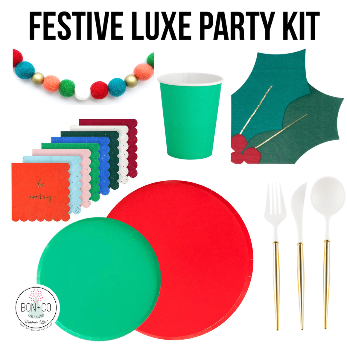 PETITE PARTY KIT LUXE - FESTIVE