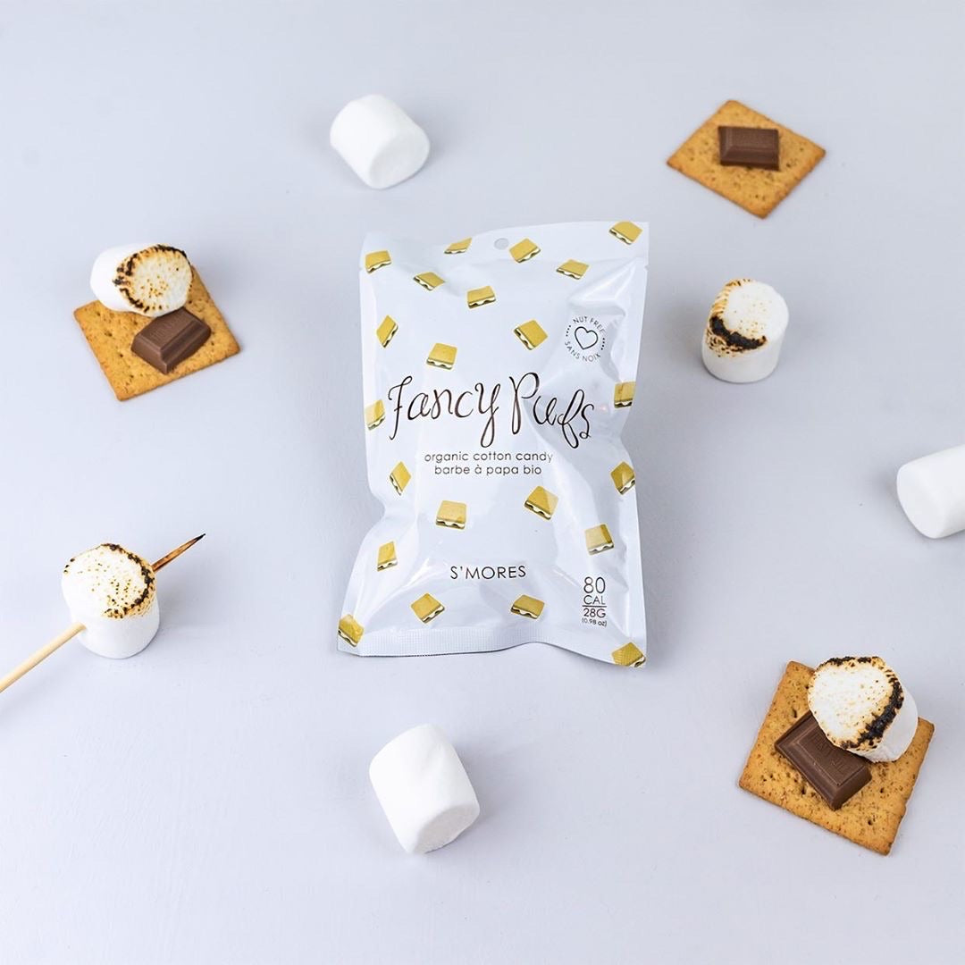 ORGANIC COTTON CANDY - S'MORES