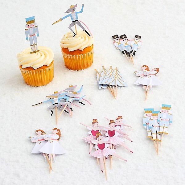 CUPCAKE KIT - MERI MERI NUTCRACKER