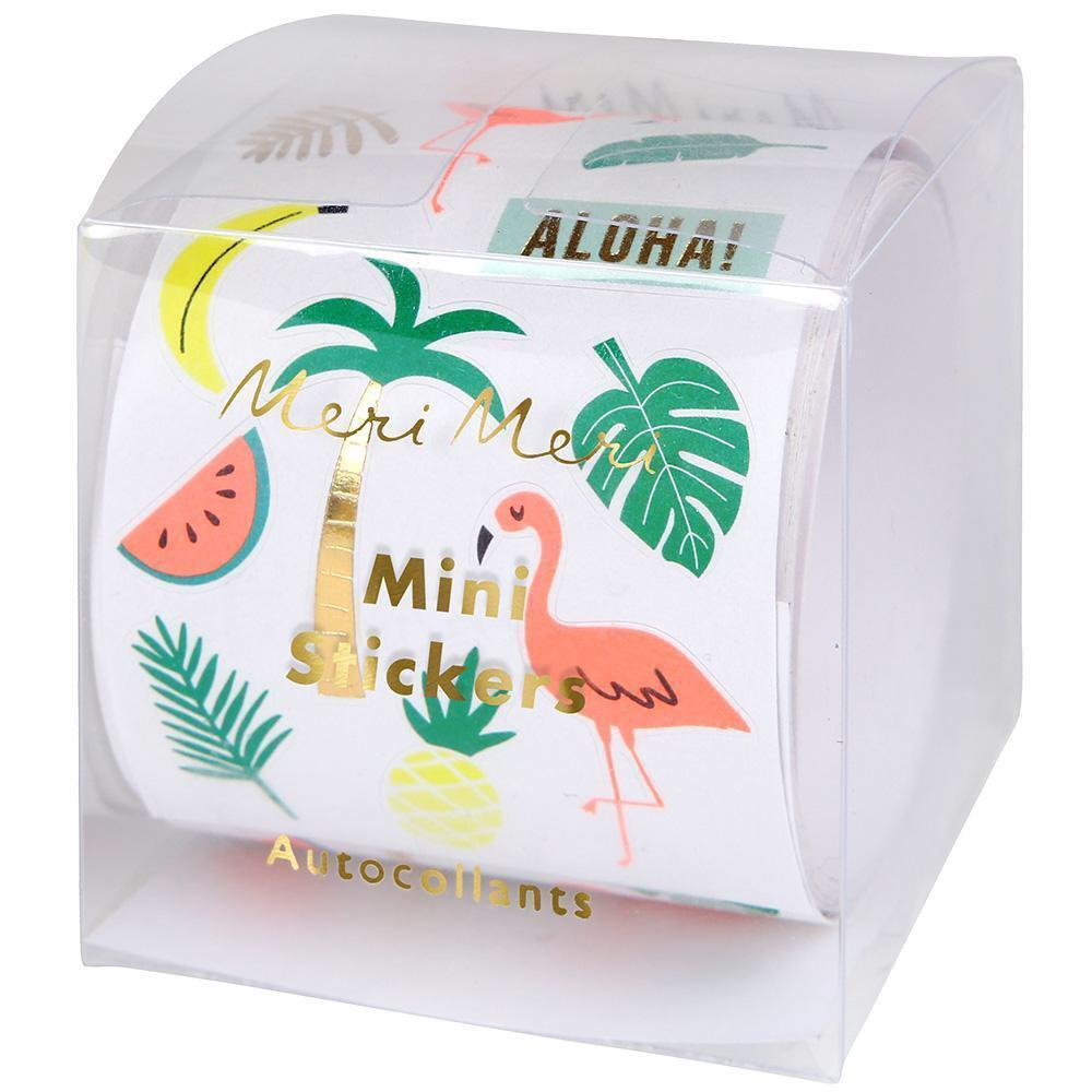 STICKERS - MINI ROLL TROPICAL