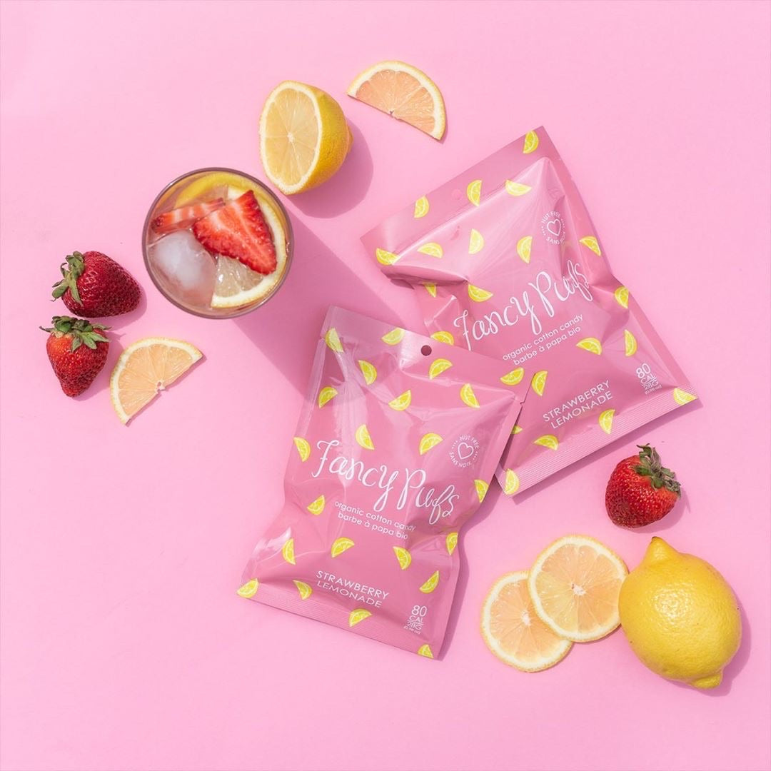 ORGANIC COTTON CANDY - PINK LEMONADE