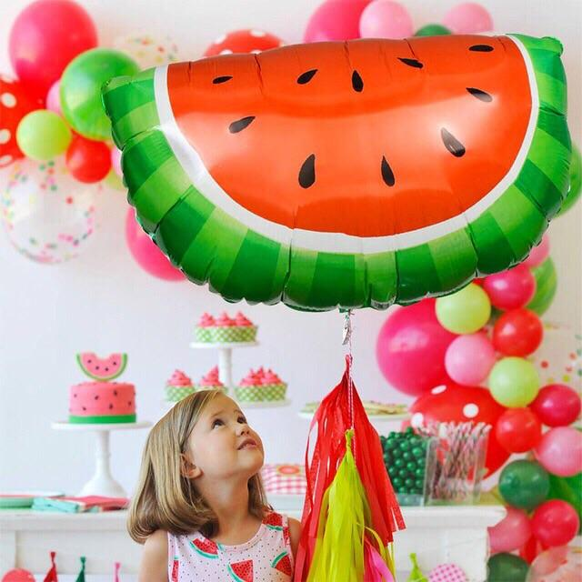 BALLOONS - FRUIT WATERMELON SLICE, Balloons, BETALLIC - Bon + Co. Party Studio