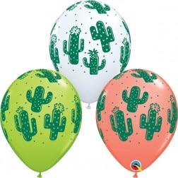 "BALLOONS - FIESTA CACTUS ASSORTED 11"", Balloons, BETALLIC - Bon + Co. Party Studio"