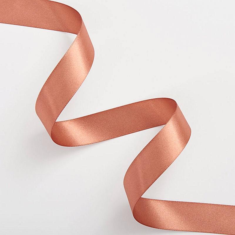 "GIFT GIVING - RIBBON 1/4"" ROSE GOLD, RIBBON, WASTE NOT PAPER - Bon + Co. Party Studio"