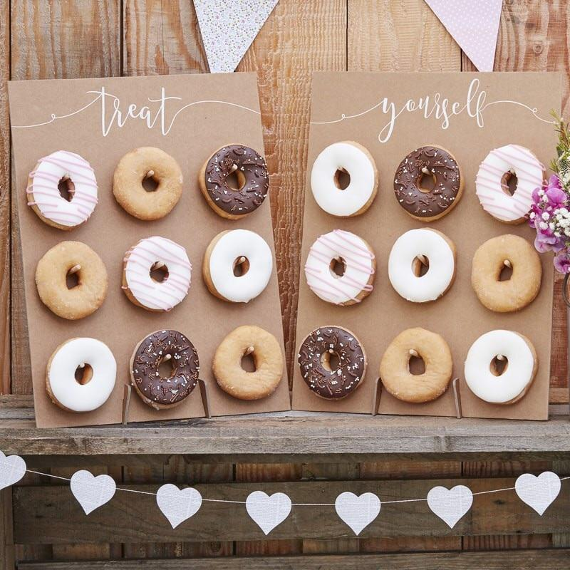 DONUT WALL - DOUBLE RUSTIC, TREAT STAND, GINGER RAY - Bon + Co. Party Studio