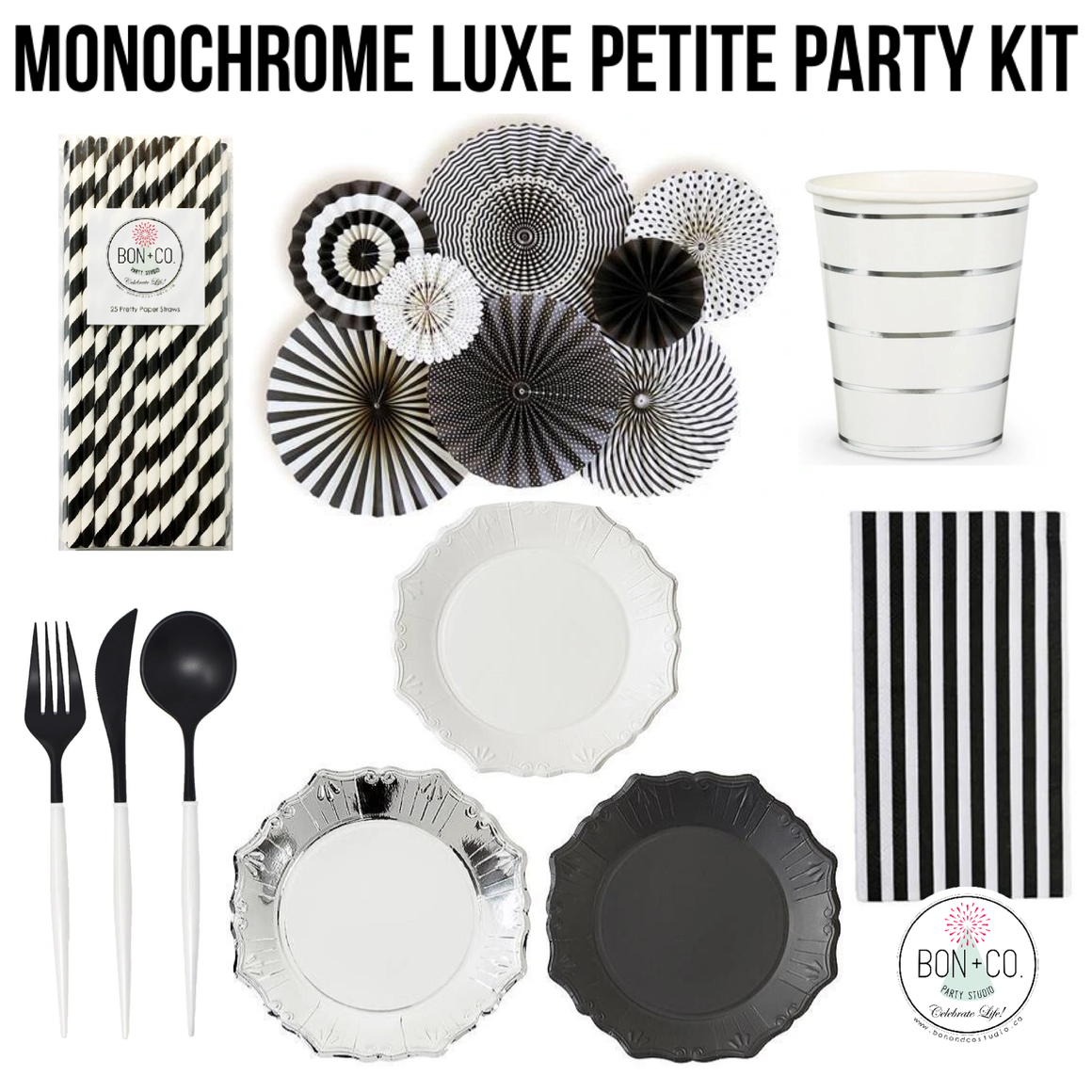PETITE PARTY KIT LUXE - MONOCHROME