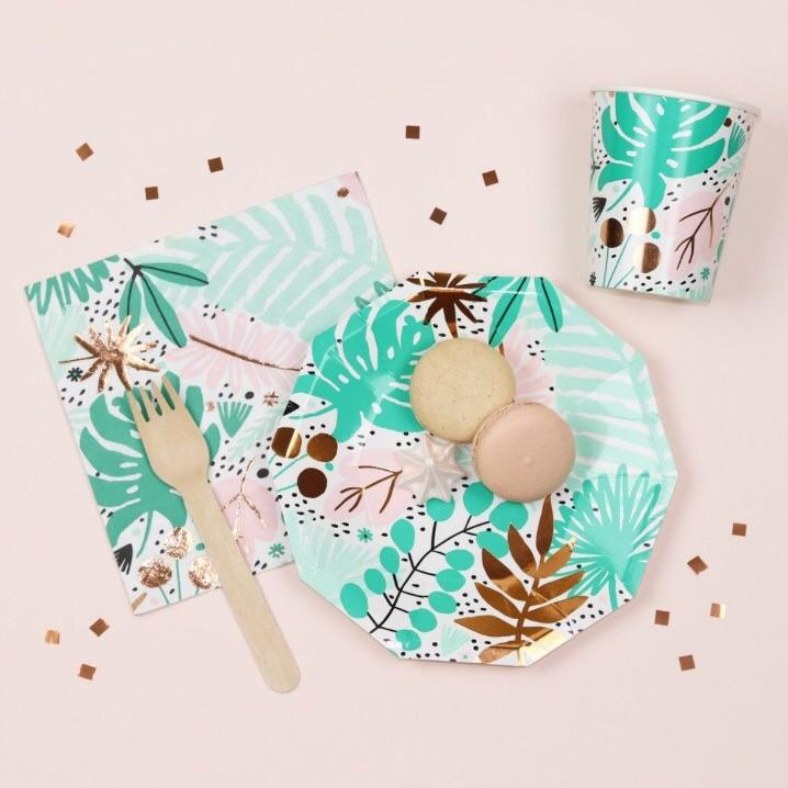 CUPS - DAYDREAM SOCIETY TROPICALE, CUPS, Daydream Society - Bon + Co. Party Studio