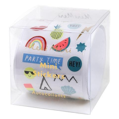 STICKERS - MINI ROLL ASSORTED