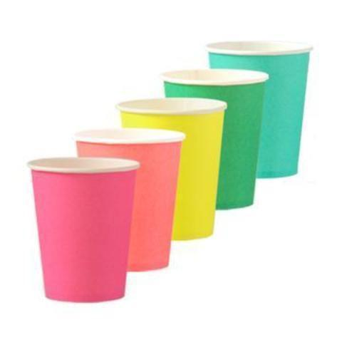 CUPS - RAINBOW SET OH HAPPY DAY