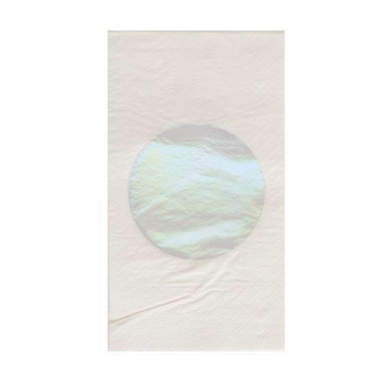 NAPKINS - DINNER IRIDESCENT DOT
