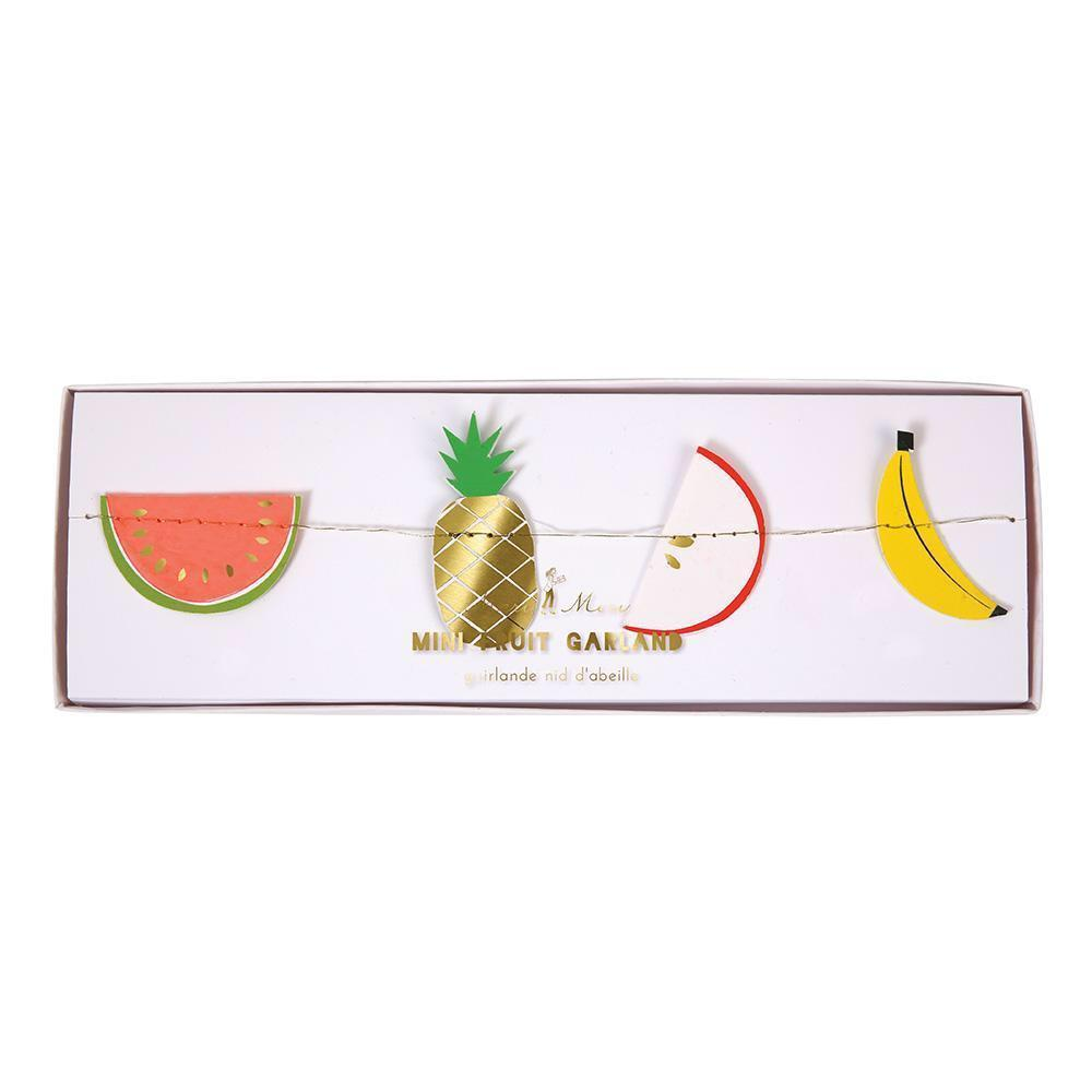 BANNER - MINI FRUIT, Buntings, MERI MERI - Bon + Co. Party Studio