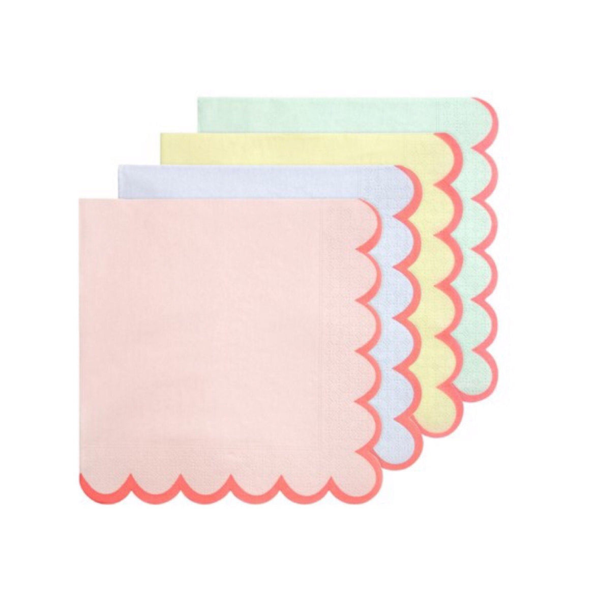 NAPKINS- SMALL PASTEL, NAPKINS, MERI MERI - Bon + Co. Party Studio