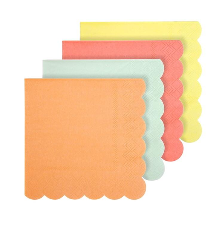 NAPKINS - COCKTAIL NEONS