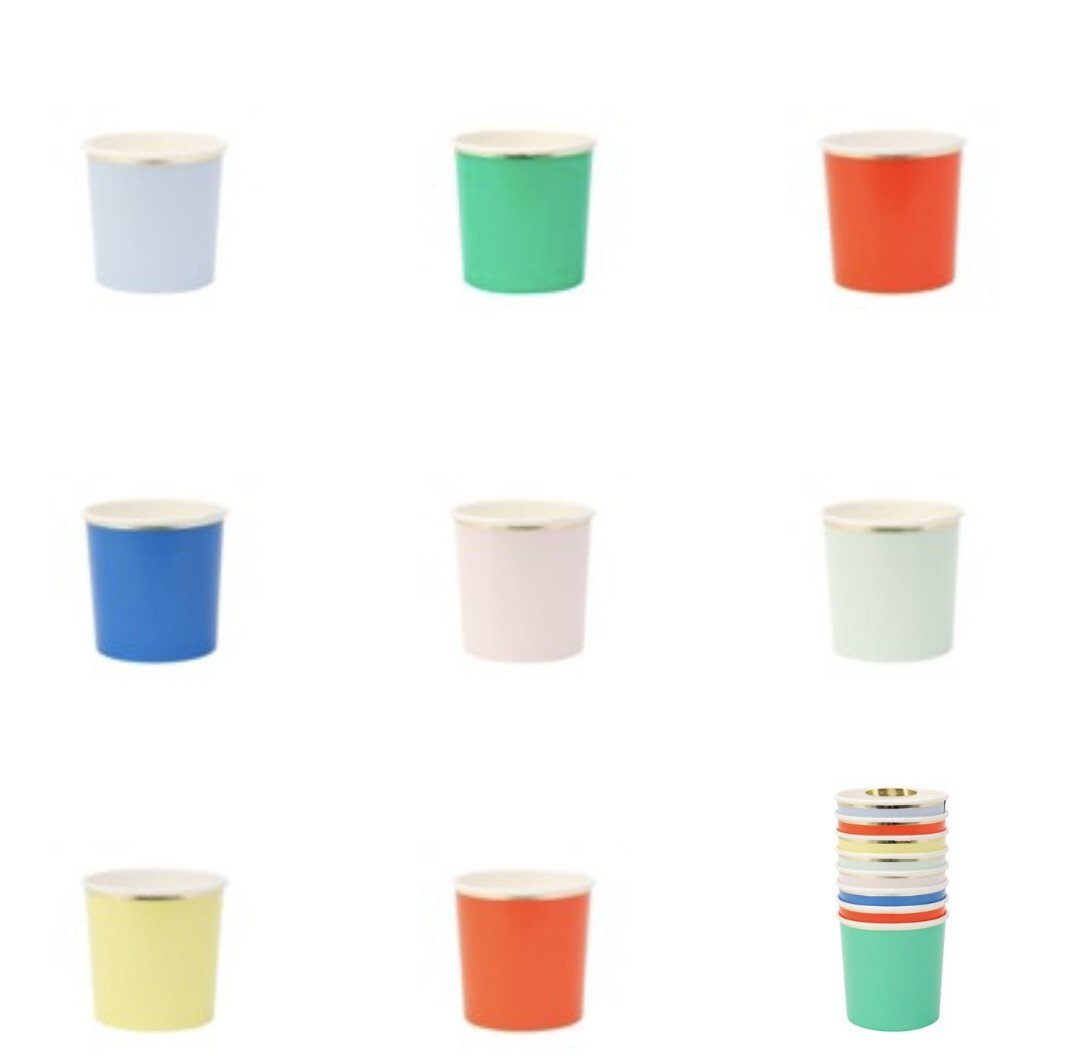 CUPS - MERI MERI TUMBLER PARTY PALETTE, CUPS, MERI MERI - Bon + Co. Party Studio