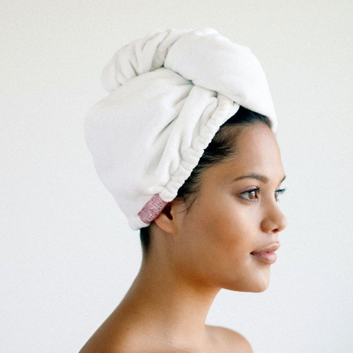 HAIR TOWEL - MICROFIBRE WHITE