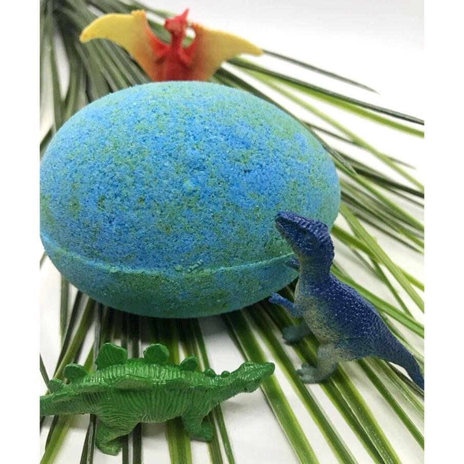 BATH FIZZY - LARGE SURPRISE TOY DINO EGG, BATH, Crafted Bath - Bon + Co. Party Studio