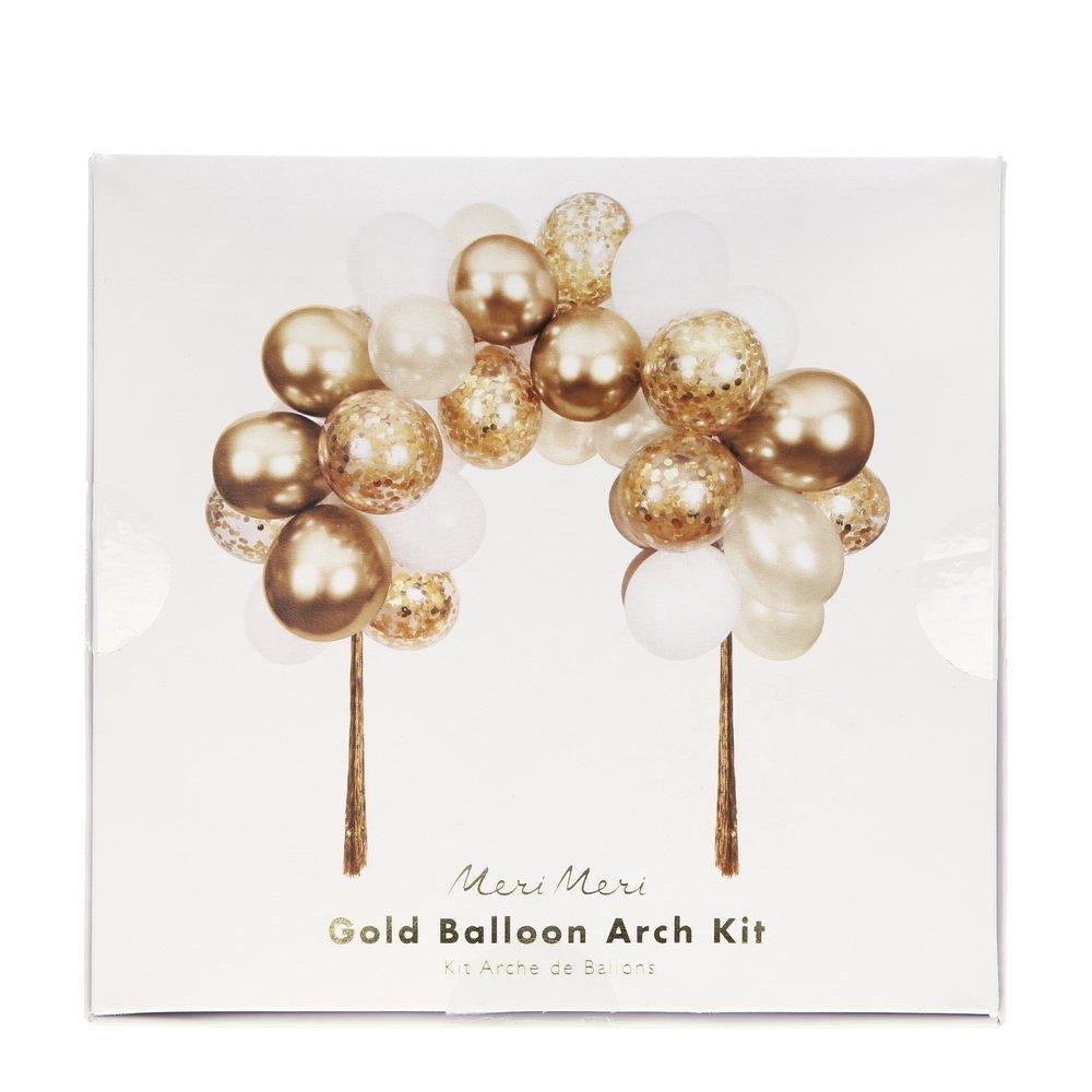 BALLOON GARLAND - GOLD WITH TASSELS MERI MERI