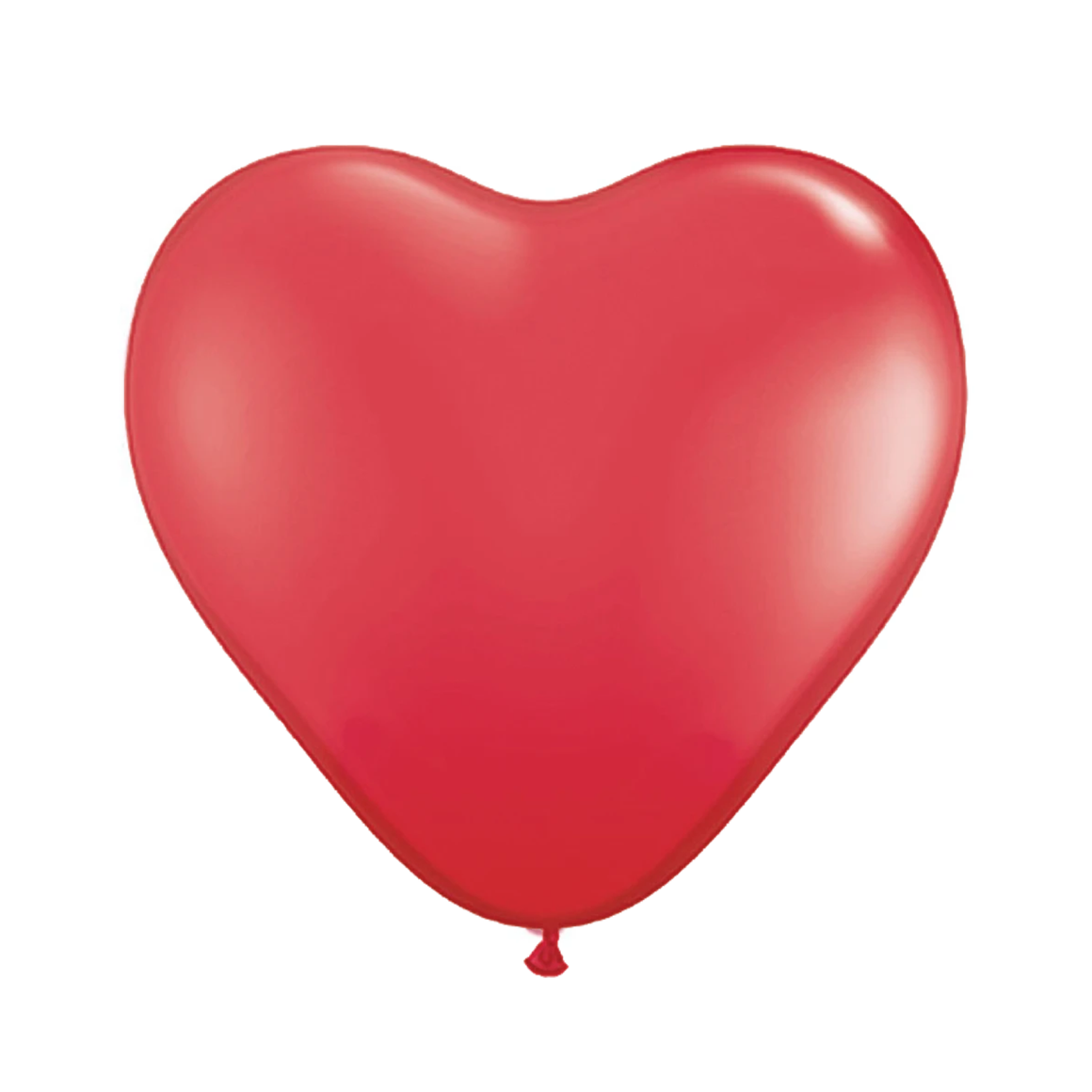 "BALLOON BAR - HEART 11"" RED"