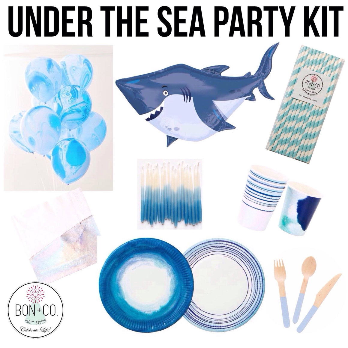PARTY KIT - UNDER THE SEA