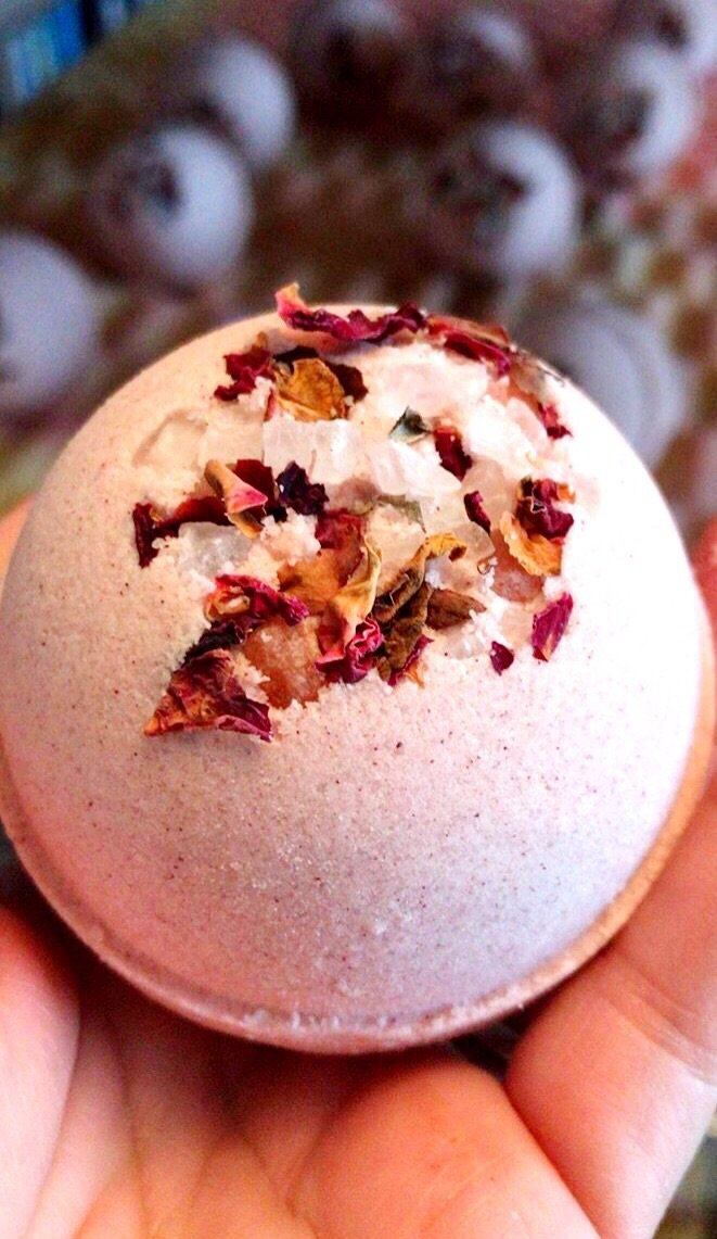 ARTISAN BATH BOMB - LOVE POTION, BATH, Crafted Bath - Bon + Co. Party Studio