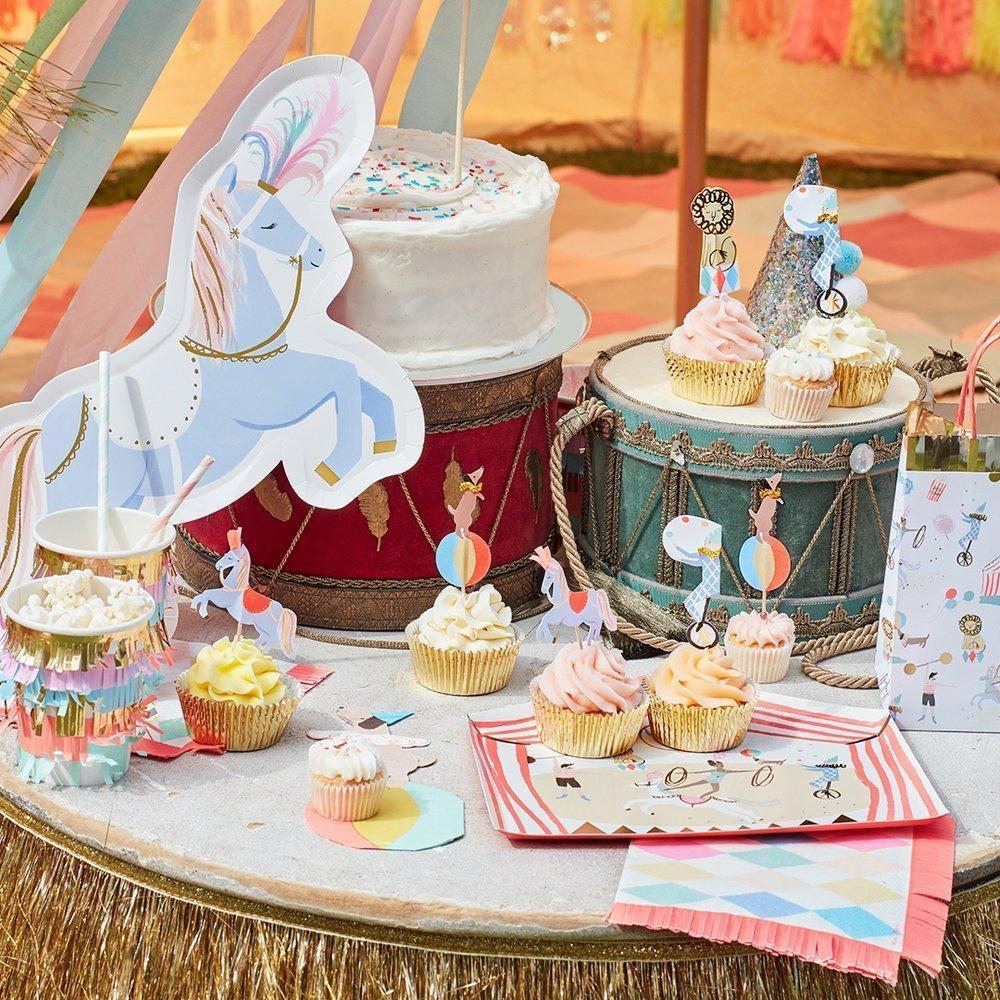 CUPCAKE KIT - MERI MERI CIRCUS PARADE, Picks + Toppers, MERI MERI - Bon + Co. Party Studio