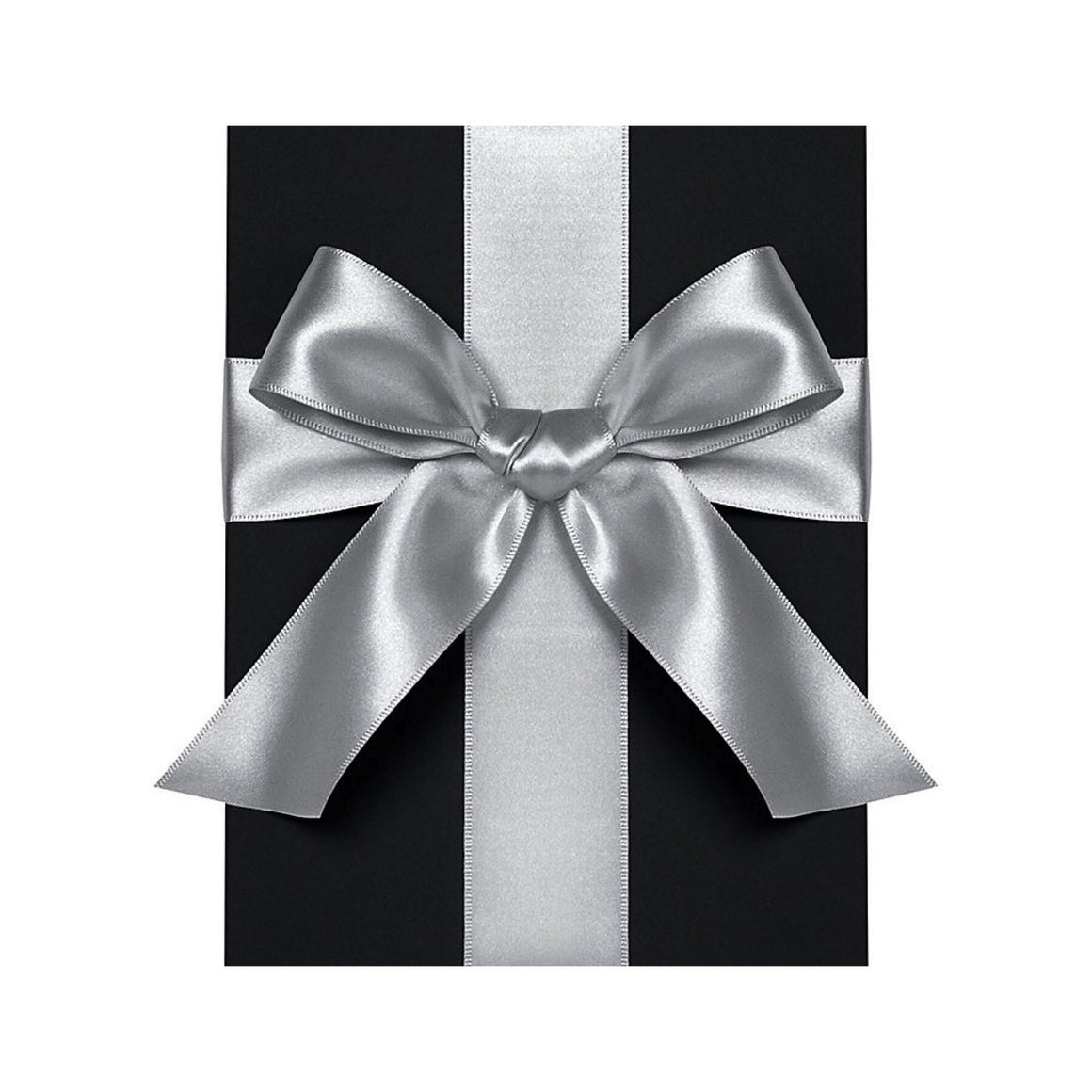 "GIFT GIVING - RIBBON 1/4"" SILVER, RIBBON, WASTE NOT PAPER - Bon + Co. Party Studio"