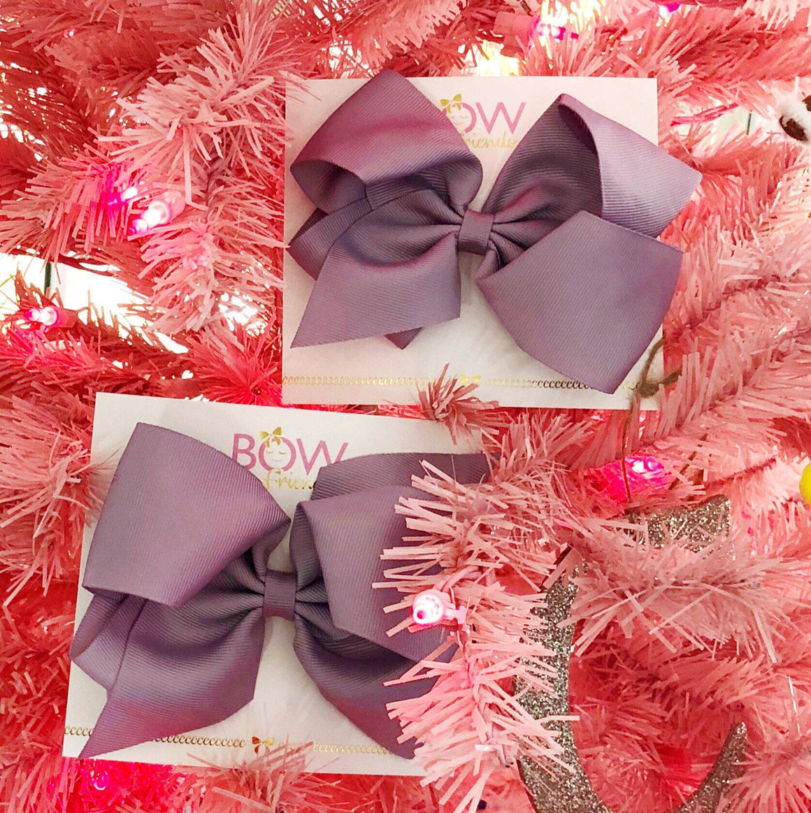 BOW FRIENDS - HAIR BOWS LARGE, ACCESSORIES, We love you Connie - Bon + Co. Party Studio