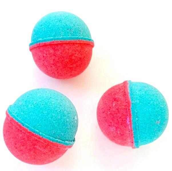 BATH FIZZY - COLOURBLAST SMALL TUTTI FRUTTI BLUE RASPBERRY, BATH, Crafted Bath - Bon + Co. Party Studio