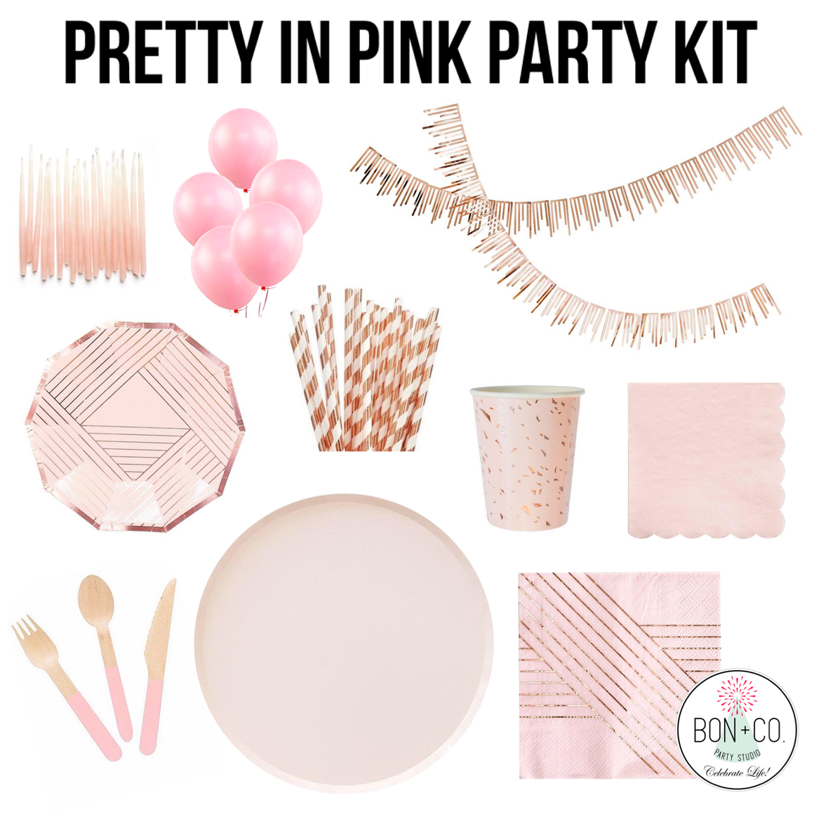 PARTY KIT - PRETTY IN PINK