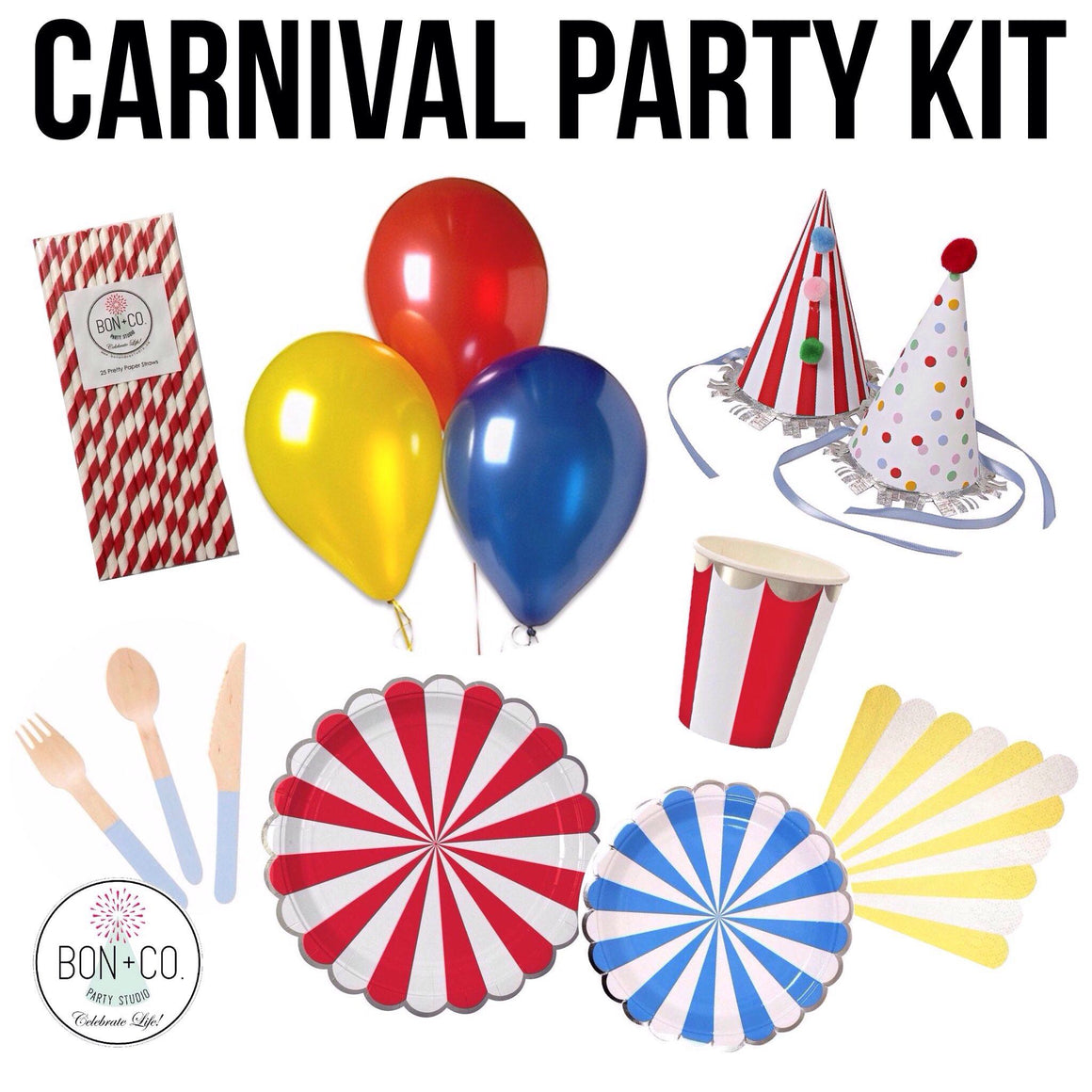 PARTY KIT - CARNIVAL CIRCUS