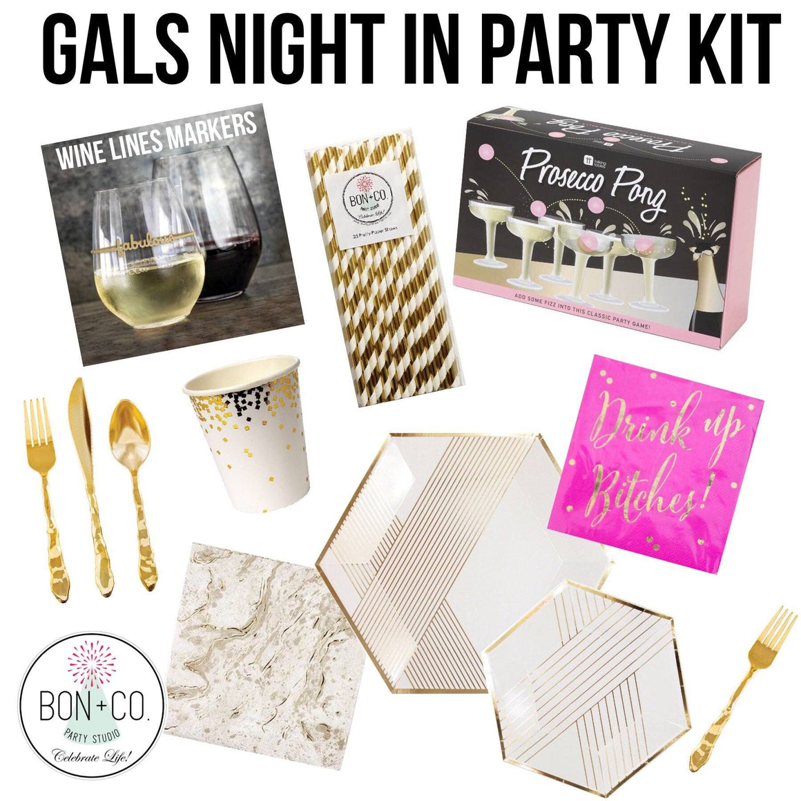 PARTY KIT - GIRLS NIGHT IN DELUXE
