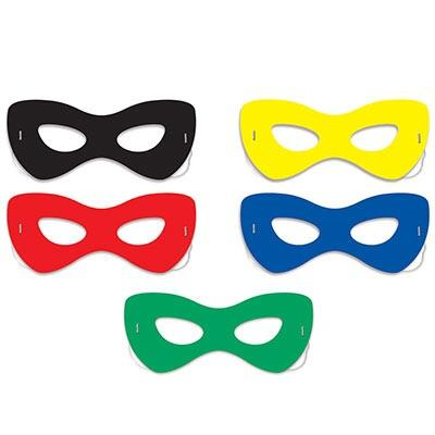 MASKS - SUPER HERO 10 PACK