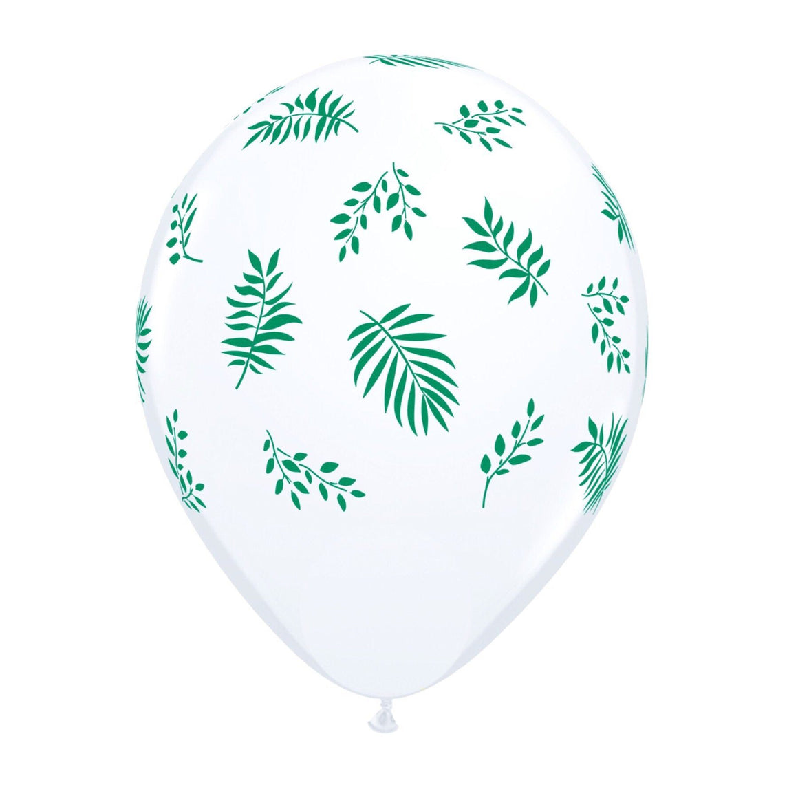 "BALLOON BAR - 11"" TROPICAL GREENERY, Balloons, QUALATEX - Bon + Co. Party Studio"