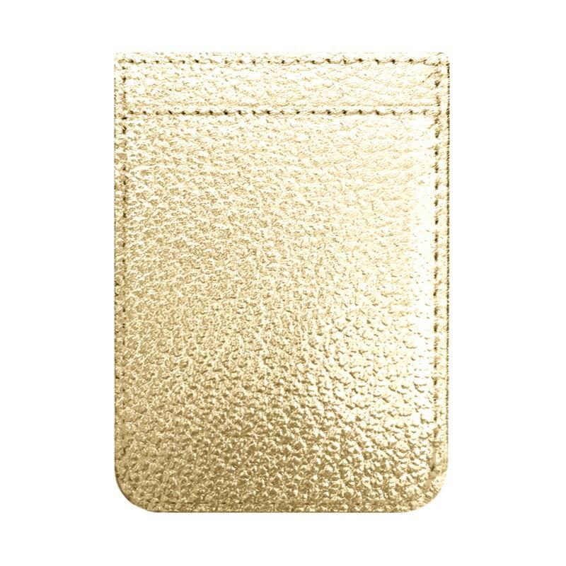 TECH - PHONE POCKET GOLD LEATHER