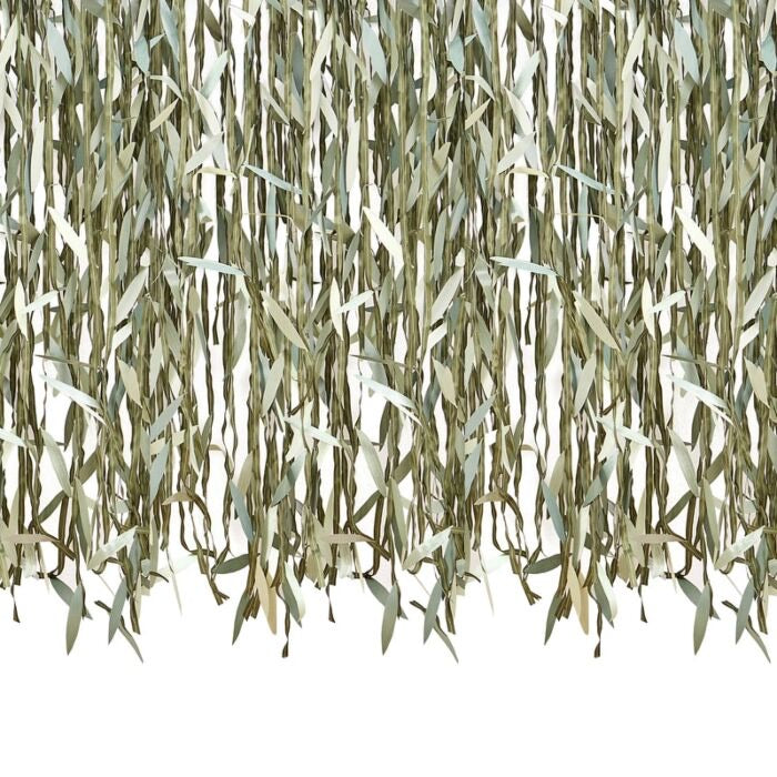 BACKDROP - BOTANICAL FOLIAGE LEAF RIBBON