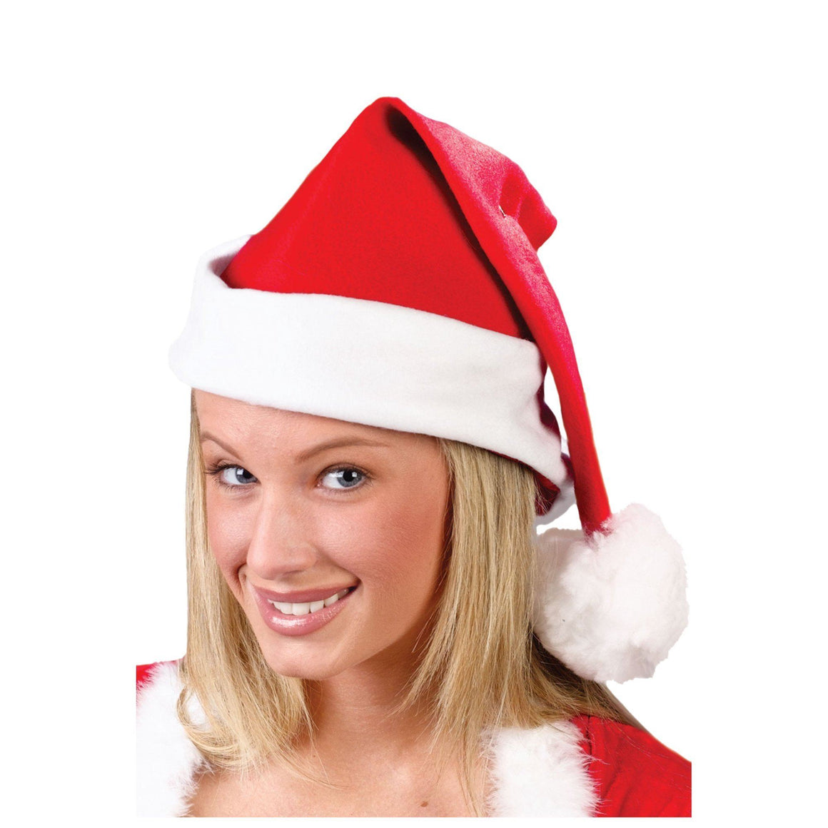 PARTY HATS - SANTA FLEECE