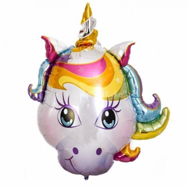 BALLOONS - UNICORN 2b HEAD MAGICAL, Balloons, Anagram - Bon + Co. Party Studio