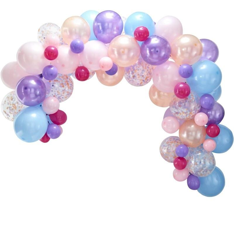 BALLOON ARCH - PASTEL, Balloons, GINGER RAY - Bon + Co. Party Studio