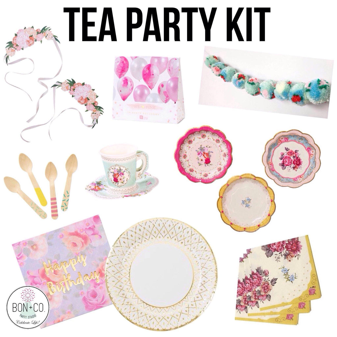 PARTY KIT - HIGH TEA PARTY