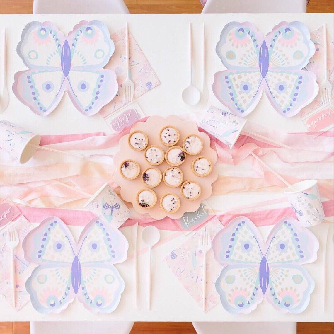 CUPS - DAYDREAM SOCIETY FLUTTER BUTTERFLY, Cups, Daydream Society - Bon + Co. Party Studio