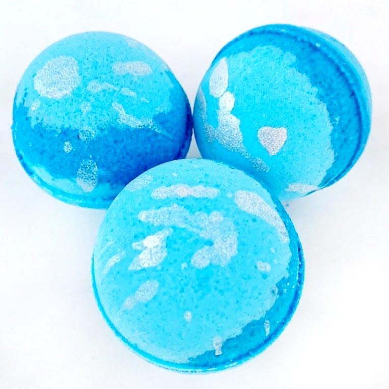BATH FIZZY - COLOURBLAST SMALL FROZEN, BATH, Crafted Bath - Bon + Co. Party Studio